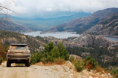 October 2018 Sierra-Nevada dirt roads trip