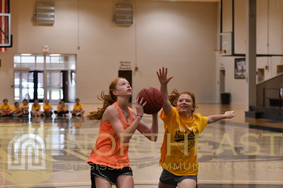 2019-06-07 WBB Middle School Camp -- Action Photos