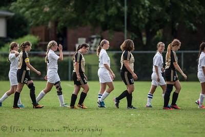 2013 PHS Girls Soccer vs Corydon