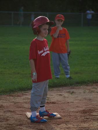 GHGLWD Summer Baseball Orange vs Red