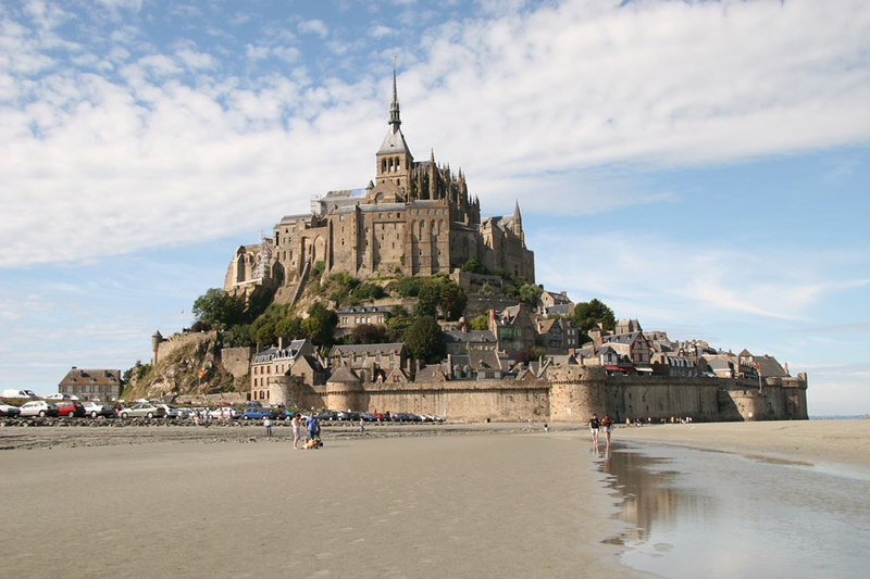 Mont St-Michel (one of the highlights of the trip - this place is amazing)