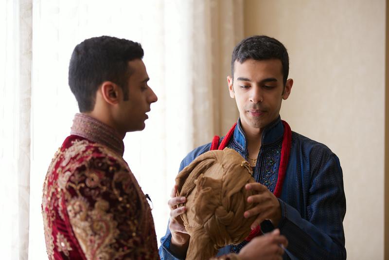 Le Cape Weddings - Indian Wedding - Day 4 - Megan and Karthik Groom Getting Ready 15.jpg