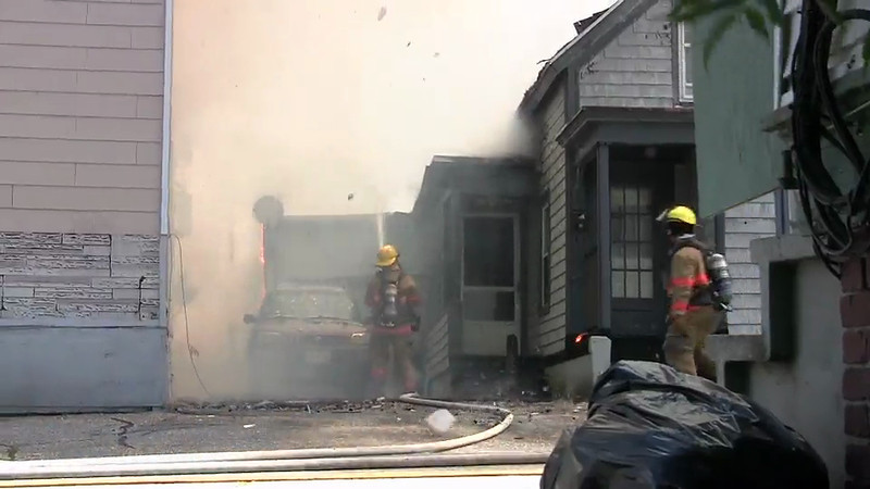 River Street Fire in Lewiston.m4v