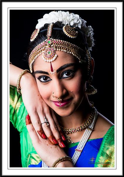 Shravya's Pre-Arangertam Portraits 2017