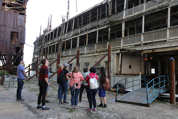 SS Columbia Project - Historic Preservation