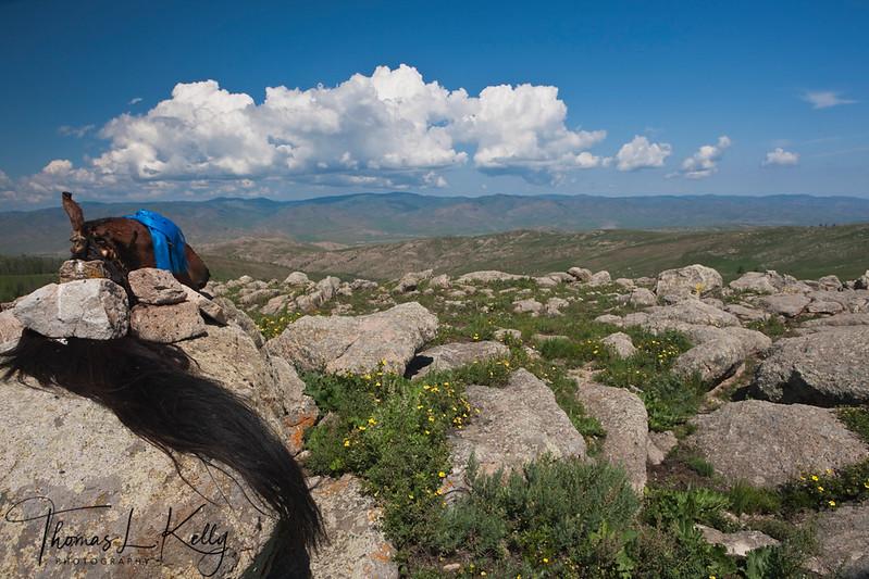 Oovo in Monkhe Tingri. Mongolia.