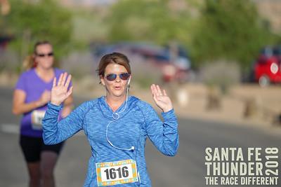 5k and 1mile Santa Fe Thunder 2018