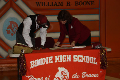 Marvin Bracy signing with Florida State