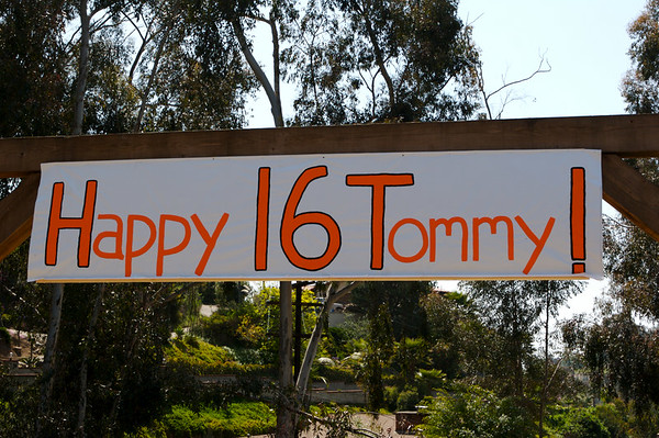 Tommy's 16th B-Day
