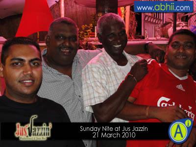 Jus Jazzin - 21st March 2010