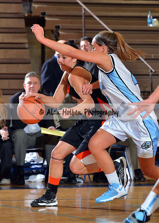 Girls varsity basketball Stockbridge at Lansing Catholic