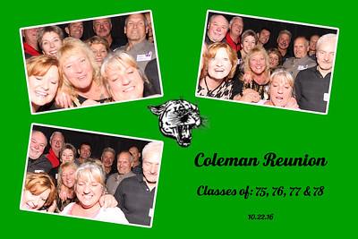 Coleman Reunion 75,76,77, & 78
