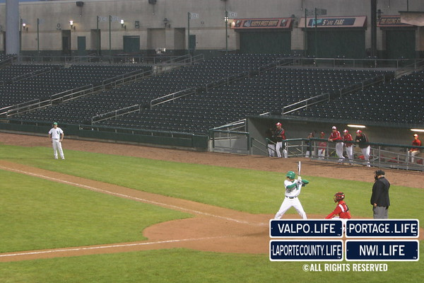 VHS Baseball vs. Portage at U.S. Steel Yard 2010