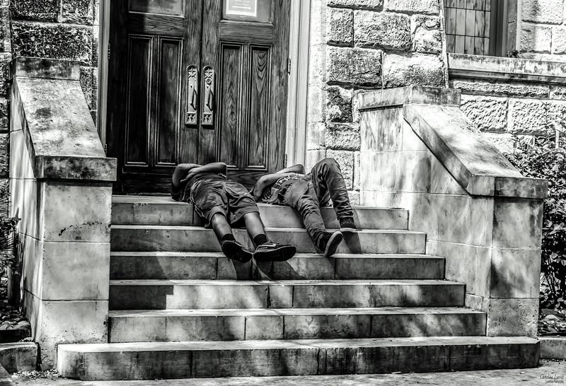 Stair sleepers b&w.jpg