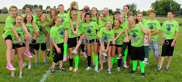2013 Powder Puff Football