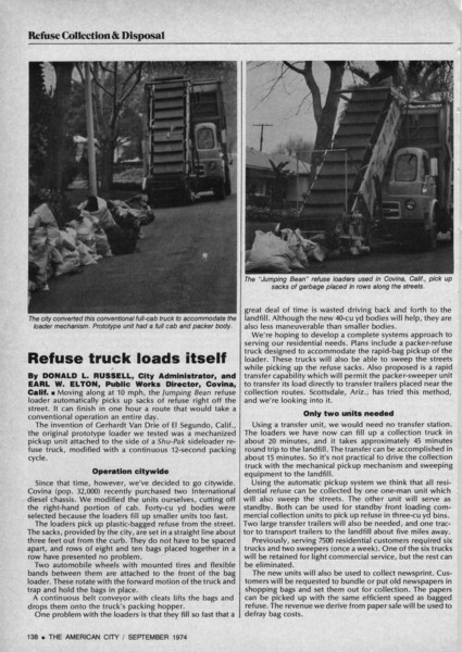 Article from The American City September 1974