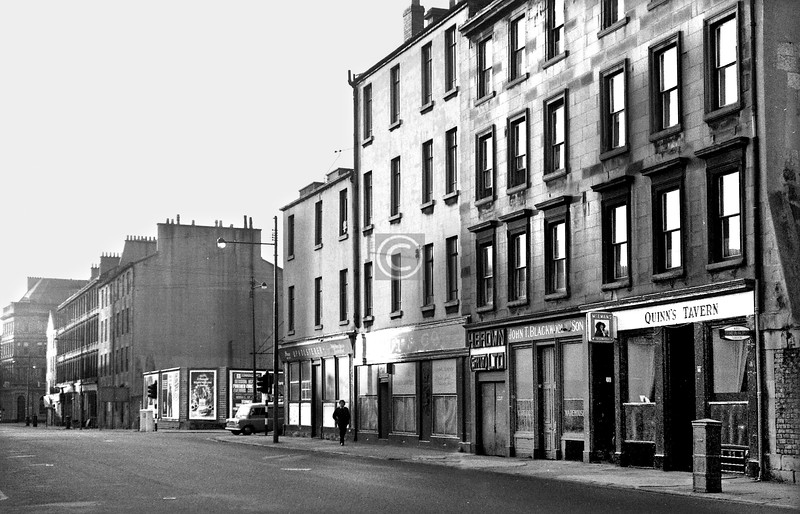 Oxford St, north side west of Nicholson St.    September 1973