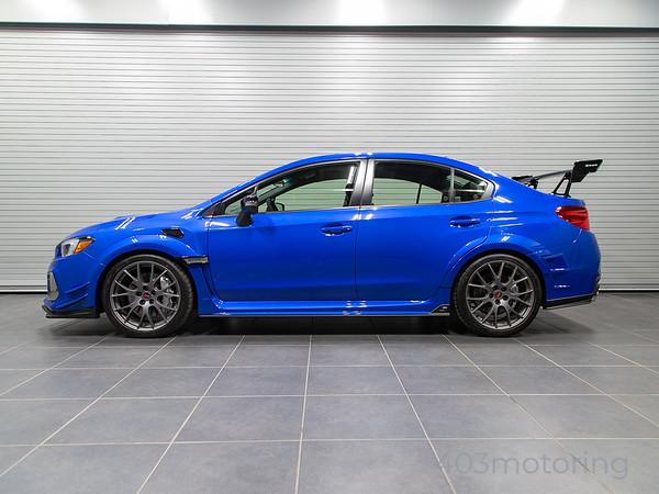 '19 WRX STI S209 - Blue