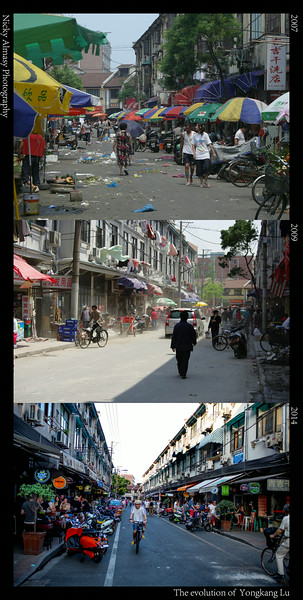 The Evolution of Yongkang Road