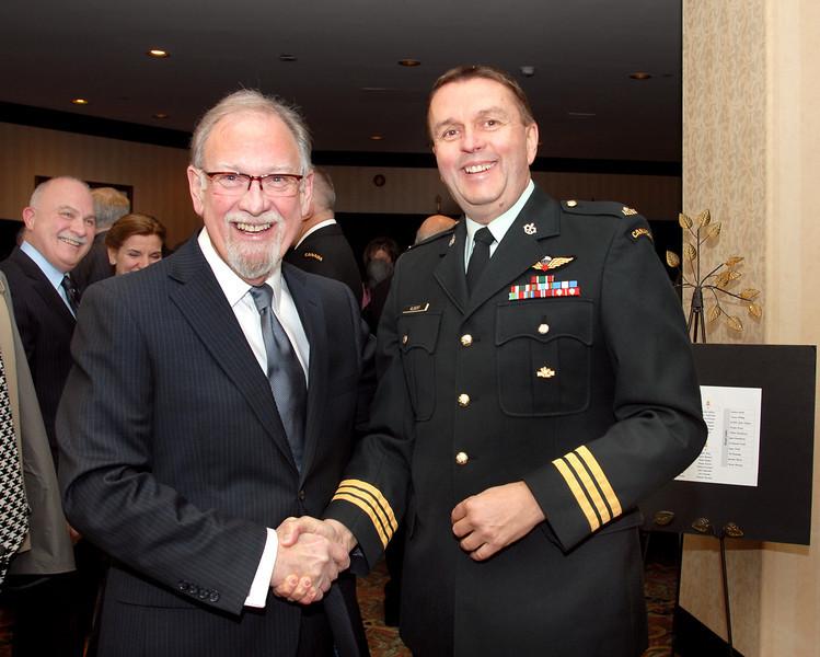 Rejean Laprise (Quebec Branch /Division) & Col, Mario Albert (DCdts/DCad)