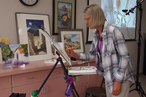 2017-04-09 SC Arlene Tugel Plein Air Painting