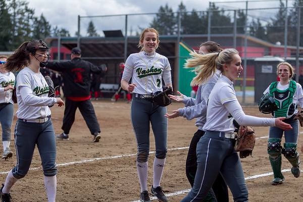 Set nine: Vashon Island High School Fastpitch v Coupeville