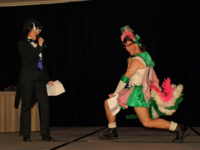 The event is hosted by the irrepressible husband and wife team of DUPLISity, Chris and Angie Duplis with Chris playing the role of the sweet and charming Sailor Jupiter and Angie as the handsome and enigmatic Tuxedo Kamen.