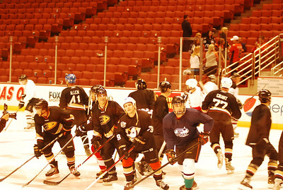 At Honda Center January 2014