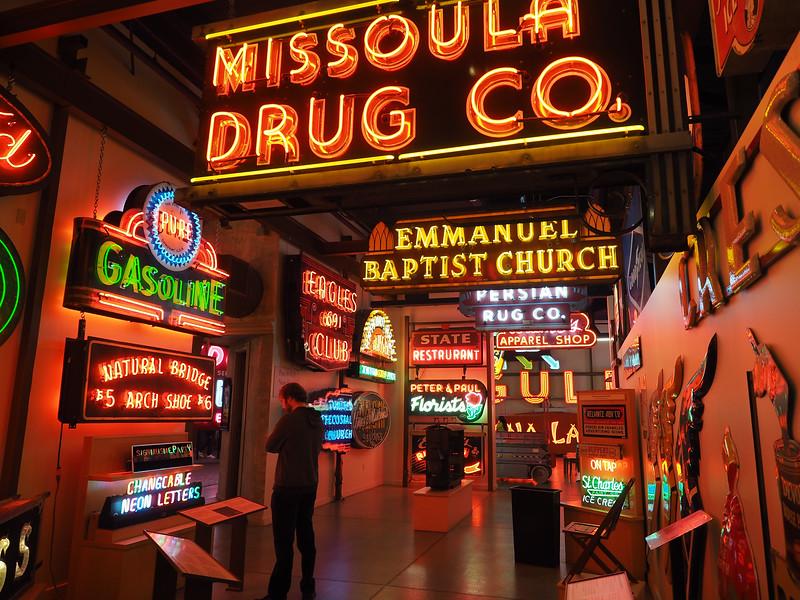 American Sign Museum in Cincinnati, Ohio