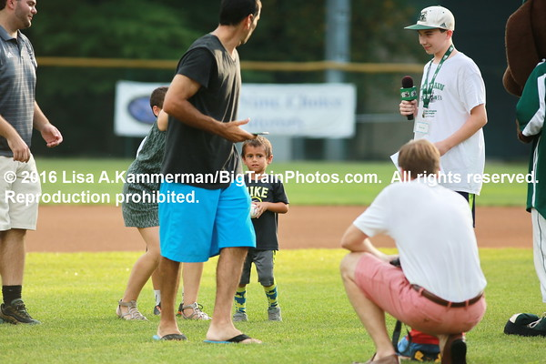 vs. Gaithersburg Giants, 7/22/2016, Pregame and Fans