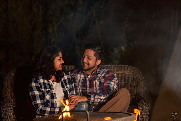 Deandra & Dalton Campfire