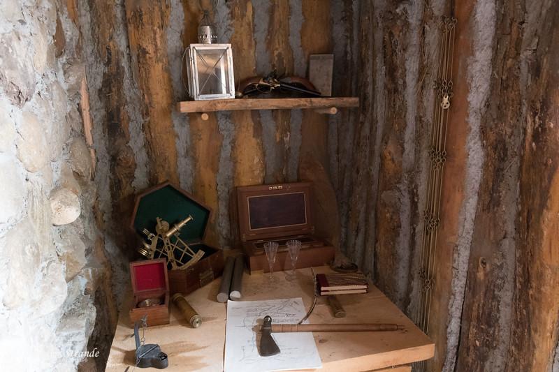 Officer's Desk & Instruments