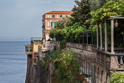 Italy - Sorrento and the Ruins of Pompeii