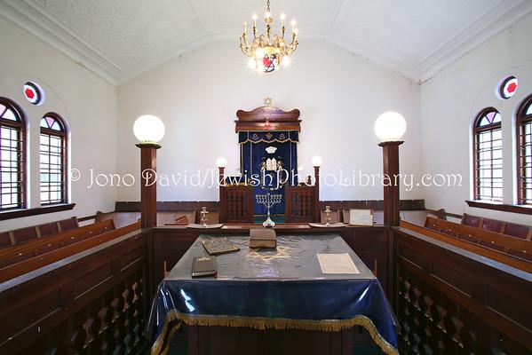 SOUTH AFRICA, North West Province, Rustenberg. Rustenberg Hebrew Congregation (2.2013)