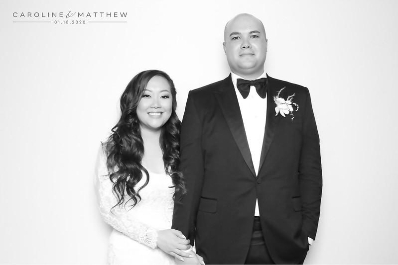 Caroline and Matthew (BW SkinGlow Booth)