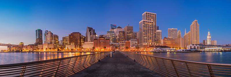 Pier into the City