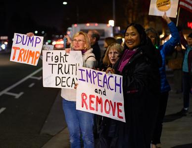 Dec 17 Impeachment Eve Rally - Cupertino