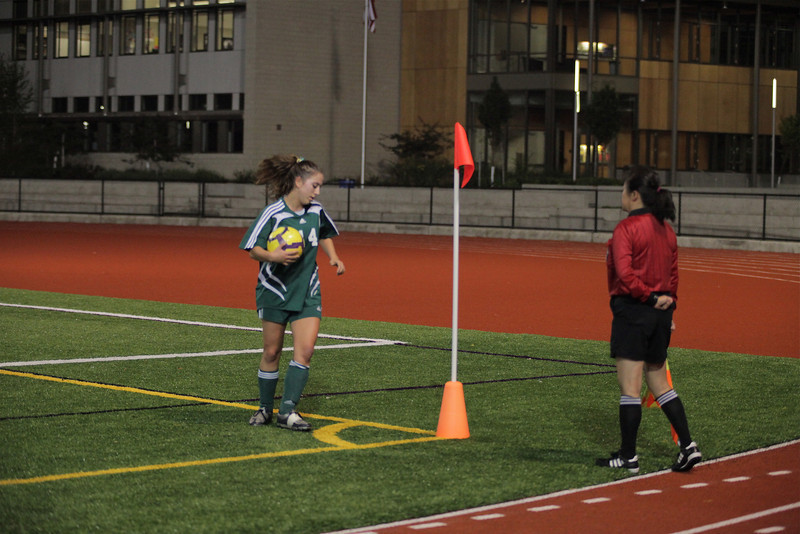 "Katrina ""Kat"" Neir Woodinville High Girls Varsity Soccer verse Issaquah High October 6, 2011   ©Neir"