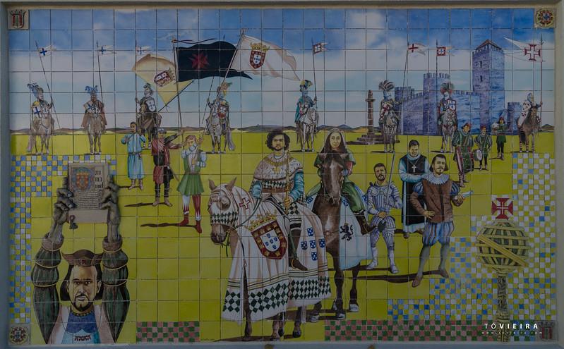 Paineis de azulejo