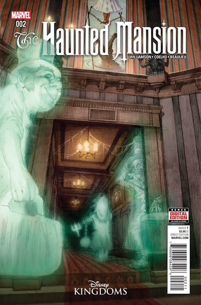 HAUNTED MANSION #2 features Disney Park exclusive variant covers
