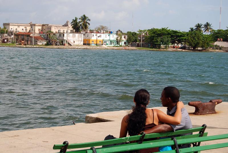 Cienfuegos Harbor - Lou Tucciarone