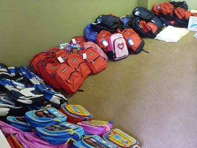 2012 Backpack Distribution