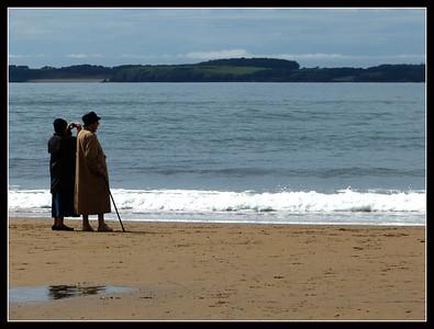 Manorbier Beach  (Wales)
