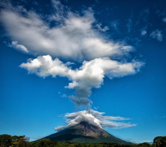 Magnificent Volcán Concepción on Isla de Ometepe