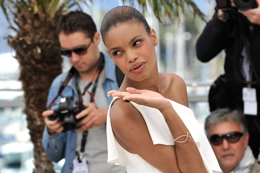 . Actress Anais Monory attends the \'Grigris\' Photocall during the 66th Annual Cannes Film Festival on May 22, 2013 in Cannes, France.  (Photo by Gareth Cattermole/Getty Images)