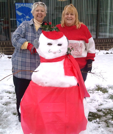 Snowlady, ABC Hi-Rise, Tamaqua (11-27-2012)