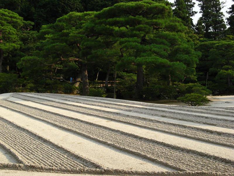 Sand garden in Kyoto
