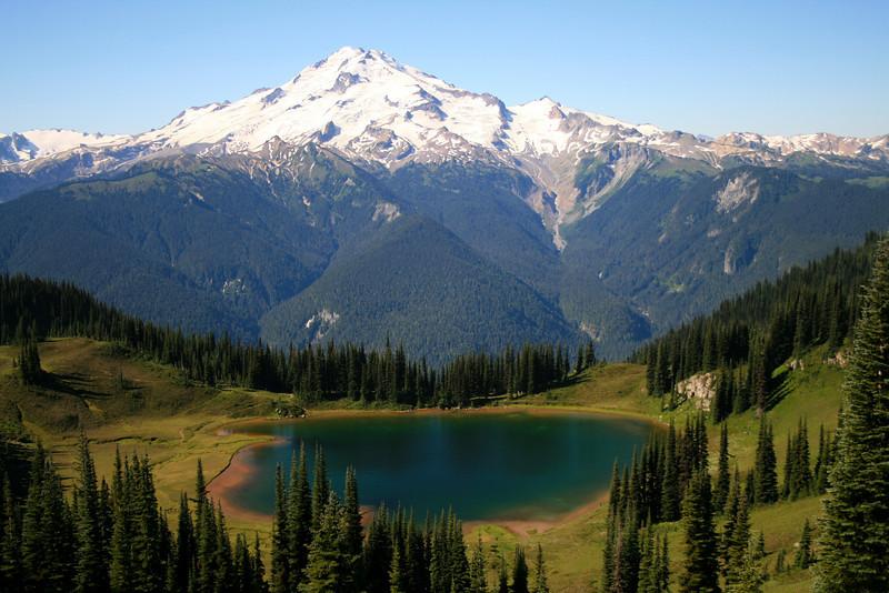 Image Lake and Glacier Peak.