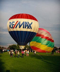 2012 Sandy Hot Air Balloon Festival