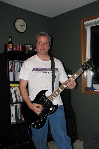 2008/02 The Throbs in the Studio